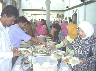 Acara syukuran berdirinya Rajawali TV komunitas